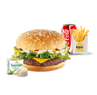 Menu Burger Boursin