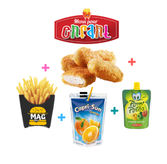 Menu Kids Nuggets