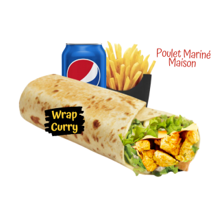 Menu Wrap Curry